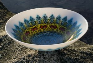large mandala bowl